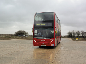 Temporary parking for buses and coaches