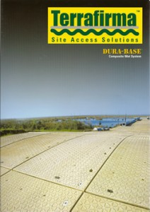 Terrafirma Dura-Base Roadways brochure